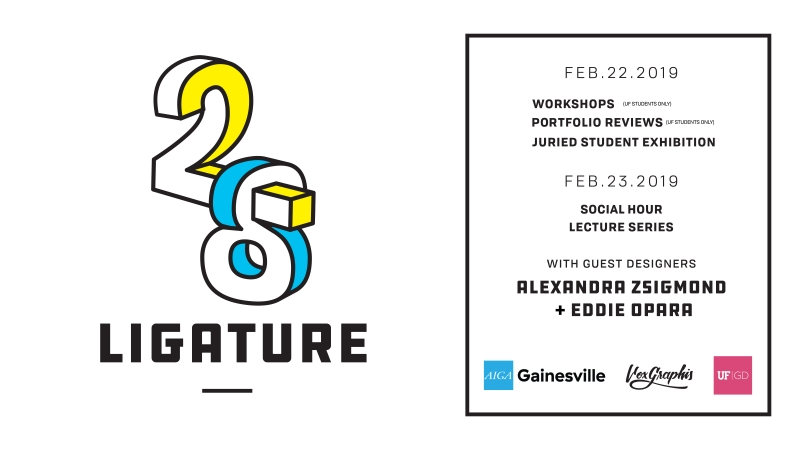 Ligature 28 // Social Hour and Lecture Series