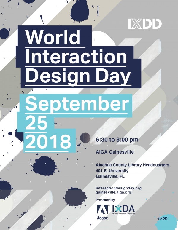 World Interaction Day poster information